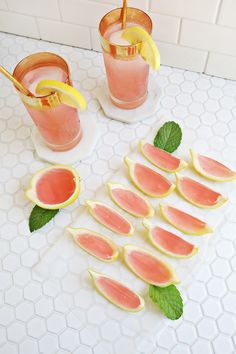 Planning a big summer barbeque? Ditch the cooler of beer for some fun and colorful cocktails. Keep cool with these refreshing and easy recipes. For more cocktail recipes and entertaining ideas, go to Domino. Lemonade Jello Shots, Flavored Lemonade, Pink Lemonade, Colorful Cocktails, Summer Cocktails, Cocktail Party Food, Cocktail Recipes, Cocktail Ideas, Jello Shot Recipes