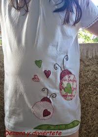 Decora y diviértete: Un DIY para tunear una camiseta lisa