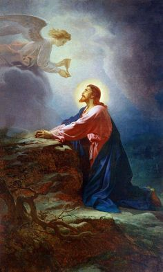 Jésus Agonie God and Jesus Christ Religious Images, Religious Art, Image Jesus, Agony In The Garden, Pictures Of Jesus Christ, Jesus Painting, The Cross Of Christ, Jesus Art, In Christ Alone