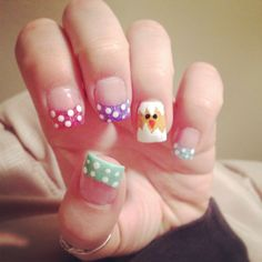 Easter chick cupcake nailed it nailed it pinterest easter nail design prinsesfo Images