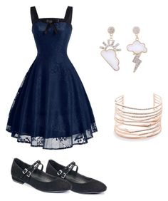 """""""Mila's party wear"""" by pantsulord on Polyvore featuring Alexis Bittar"""