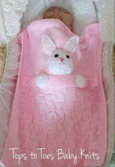 Adorable Bunny Blanket For inspiration or recreation