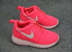 Neon Pink Roshe Running Shoes. (Perfect for School)