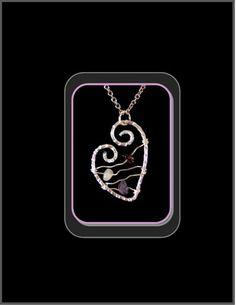 Birthstone jewelry, bithstone necklace, gemstone jewelry,heart jewelry | ArtisticCreationsbyRose - Jewelry on ArtFire