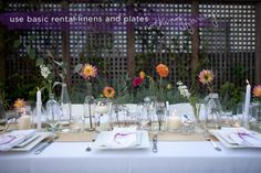 How To Make a Simple, Colorful Tablescape (6)