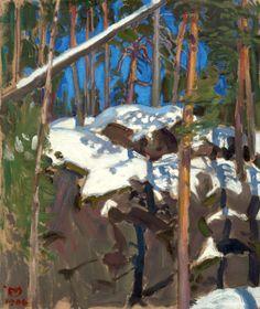 * Akseli Gallen-Kallela Finnish 1865-1931 Spring Sun at Konginkangas