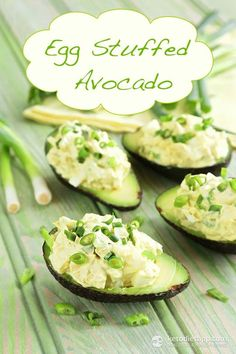 Egg Stuffed Avocado