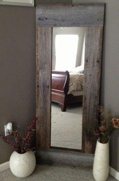 Tall and Narrow Wood Home Decor
