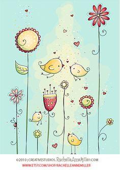 Love Birds by Rachelle Anne Miller, via Flickr