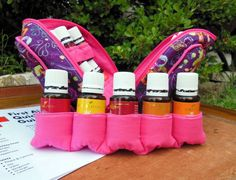 Need to carry 5 additional bottles in your Essential Oil Bag? This Insert is the perfect solution.  OurHHH