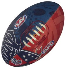 Melbourne Demons Footy Ball by Burley