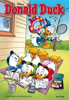 Zomerpret Walt Disney, Disney Duck, Disney Girls, Disney Magic, Disney Art, Cartoon Tv, Cartoon Characters, Comic Book Covers, Comic Books