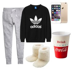 """My hangover outfit "" by rii-ppa on Polyvore featuring interior, interiors, interior design, home, home decor, interior decorating, H&M, adidas Originals, M&Co and Dot & Bo"