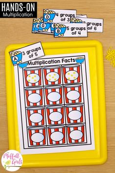 Mastering multiplication and division is such an important skill for grade students. In Unit 3 of the Grade Math Made Fun Curriculum, Multiplication Strategies, Multiplication And Division, Math Fractions, Maths, Teaching Math, Math Help, Fun Math, Framed Words, Math Graphic Organizers