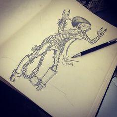 my sketch on Behance