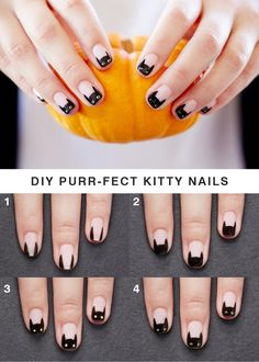 Halloween is just around the corner and we've got the puuuurfect DIY nails that you can sport this holiday! // Blog.JustFab.com