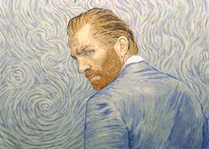 hand painted film animates vincent van gogh's life in the style of his paintings  loving-vincent-film-will-animate-van-gogh-designboom 12 oil paintings per second more than 56,000 paintings to make the film