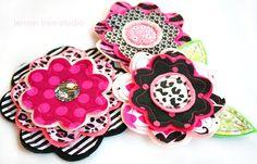 NEW Fresh Picked Flowers Isla Handmade Fabric by LemonTreeStudio