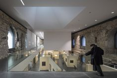 A New Roof by Nieto Sobejano Arquitectos Turned This Ancient German Castle Into an Enlarged Exhibition Space