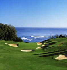 Sand, greens, ocean. Yes, please! Golf Course Review: The Princeville Prince Golf Course, Princeville, Kauai, Hawaii May 10th, 2012 by Bob Fagan