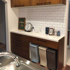 Kitchen/IKEA/カウンターキッチン/サブウェイタイル/ロンハーマン/ウッドワン...などのインテリア実例 - 2016-07-29 08:58:35