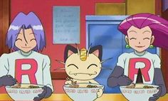 Noddles rule and team rocket rules too Pokemon Meowth, Pokemon Memes, Pokemon Sun, Pokemon Cards, Jessie Pokemon, James Pokemon, Jessie Team Rocket, Team Rocket James, Pokemon Fusion Game