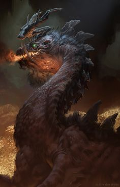 Smaug by Justin Oaksford