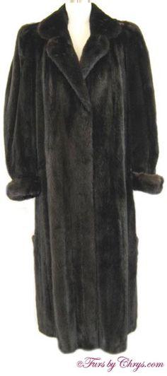 Long Ranch Mink Coat Size Range: 8 - 12 (possibly Price: SOLD, Excellent Condition Mink Coats, Mink Fur, Fur Coat, Furs, Ranch, Label, Nice, Stylish, Natural