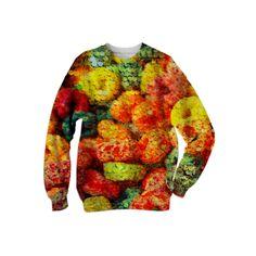 : Yummeh Shiny Crunch : Sweatshirt from Print All Over Me  /  #printalloverme #fantasymall #onlinemall   #fantasygifts #fantasyshopping #CorianderShea #hipster