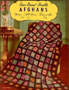 Vintage 1944 Pattern Book Afghans Your All by DollysVintageCloset, $4.50