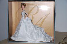REEM ACRA BRIDE BARBIE DOLL, DESIGNER BRIDES COLLECTION, L3549, 2007, NRFB Barbie Top, Barbie Dolls, Reem Acra, Brides, Collection, Wedding Dresses, Tops, Design, Fashion
