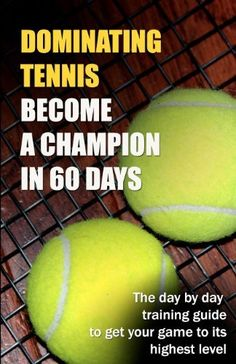 Dominating Tennis Become a Champion in 60 Days by Ryan T Guldberg. $12.99. Publisher: CreateSpace Independent Publishing Platform (November 22, 2012). Publication: November 22, 2012