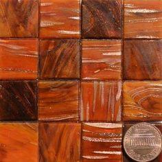 Painted Desert KG55 Metallic Glass Mosaic Tiles