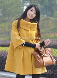 Cute coat (though I don't like this color. Would need to be black!!)