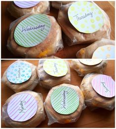 Prep Day Idea -- HEALTHY & Easy Breakfast Sandwiches To-Go All Week Long! via Undressed Skeleton. Bake the eggs in a muffin tin atb350 for 15 minutes- scrambled or not. Also can get creative with what to put on it. Veggies- spinach and peppers or mushroom and tomatoes, or meat- sausage, turkey bacon, or ham. All of the food bakes in the oven for prep!