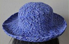 free wide brimmed sun hat pattern