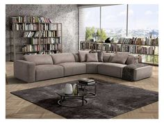 Anais is an exquisitely crafted modern Italian couch. Its elegant design showcases Italian ingenuity and every day practicality of the piece. Italian Leather Sofa, Microfiber Sofa, Living Room Sofa Design, Italian Furniture, Showcase Design, Leather Furniture, Corner Sofa, Modern Sofa, Line Design