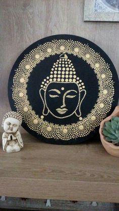 Mandala Art Dotart One thing that is vitally important in vegetable gardening is the garden arrangem Mandala Art, Mandala Canvas, Mandala Rocks, Mandala Painting, Buddha Painting, Dot Art Painting, Buddha Art, Stone Painting, Madhubani Art