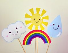 Rainbow Centerpieces, Rainbow Party Centerpiece, Rainbow Birthday Centerpiece, Rainbow Baby Shower, Rainbow Photo Props by CraftyCue on Etsy https://www.etsy.com/listing/236773055/rainbow-centerpieces-rainbow-party