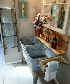 Mud room farm sink