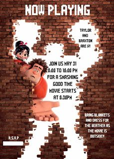 Then We Made...: Wreck it Ralph Movie Party