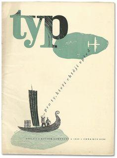 Letterology: 1948 Czech Type Journal