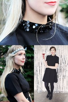 POPPY LUX ZOE FLOWER COLLAR DRESS! A blogger favourite -  Beautifully modelled here by Samantha of style blog Halcyon Velvet and Emma of style blog Collage Me Pretty. Get it now at... http://www.sugarhillboutique.com/pp15/poppy-lux-zoe-flower-collar-dress.aspx