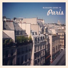 I've written about Paris countless times, so much so that I even created a Visit Paris page on my blog. But the fact remains that when it comes to certain subjects there are others who are fa…