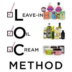 L.O.C. Method for natural hair.