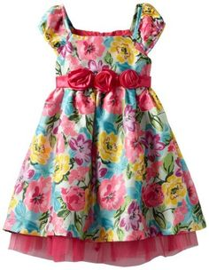 Nannette Girls 2-6X Colorful Floral Printed With Tulle, Bright Pink, 2T Young Hearts,http://www.amazon.com/dp/B00AHC5SAS/ref=cm_sw_r_pi_dp_iIfmrb1BXK1KP8S3