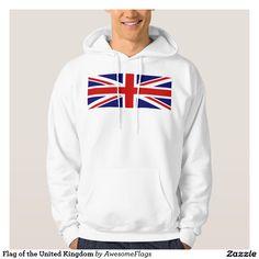Flag of the United Kingdom Hooded Sweatshirt