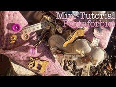 mini tutorial - portaforbici   arianna nannetti - YouTube