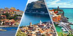 Via Aurelia [Italian Riviera]: Sarzana-Cinque Terre-Genoa-Menton with ViewRanger GPS Genoa, Cinque Terre, Times Square, Travel, Santiago, Drive Way, Viajes, Traveling, Trips