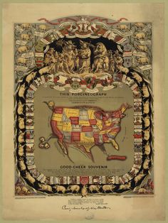 Porcinegraph--Pork map of the US